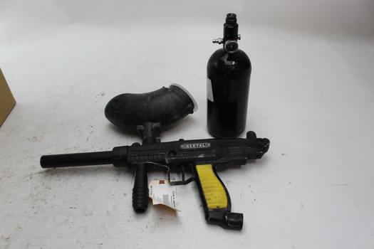 Tippman Paintball Marker With Air Canister