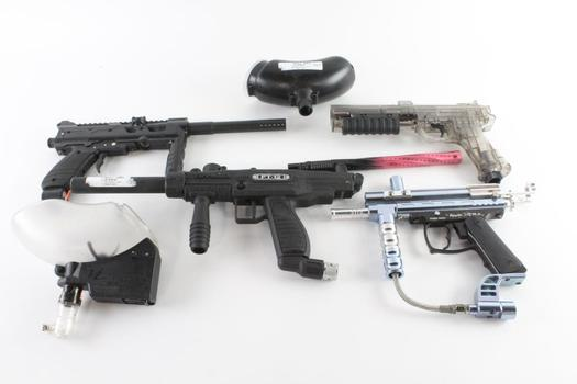 Tippmann And Other Paintball Guns, 6 Pieces
