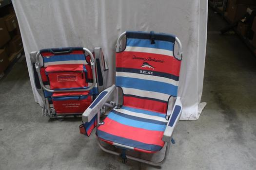 Tommy Bahama Backpack Cooler Chair: 2 Items