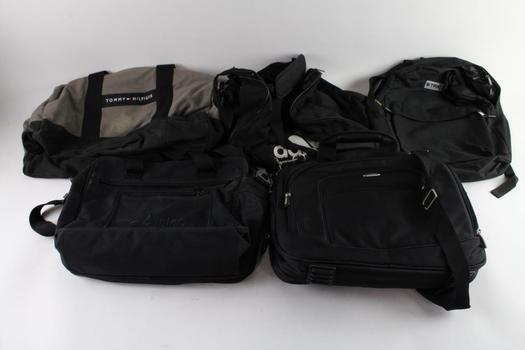 Tommy Hilfiger And Other Duffle And Other Bags, 5 Pieces