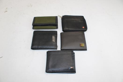 Tommy Hilfiger, Dickies, & More Assorted Wallets; 5 Pieces