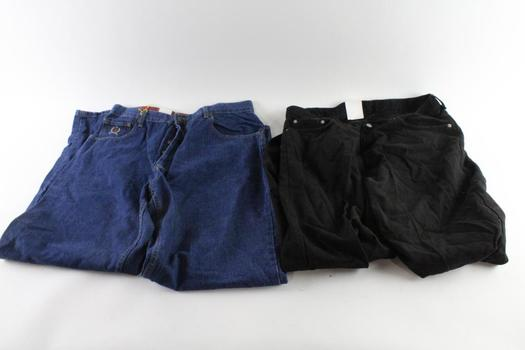 Tommy Jeans And Polo Jeans Co. Jeans, 38 And 38x34, 2 Pieces