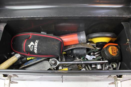 Tool Box, Ratchet, Crescent Wrench, Pry Bar, Sockets And More: Craftsman: 10+ Items