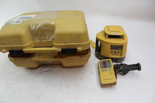 Topcon Rotary Laser Level With Case