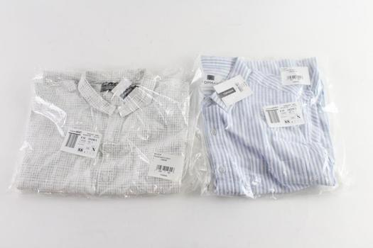 Topman Collared Shirts, L, 2 Pieces
