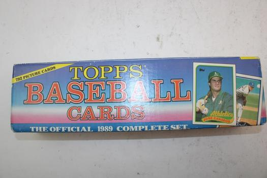 Topps 1989 Official Complete Set Trading Cards