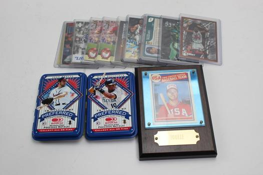 Topps, Pinnacle+ More Assorted Sports Cards 10+ Pieces