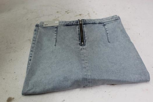 Topshop Moto Skirt, Size 6