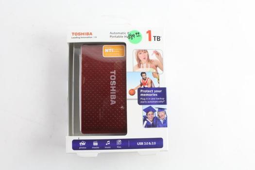 Toshiba External Hard Drive | Property Room