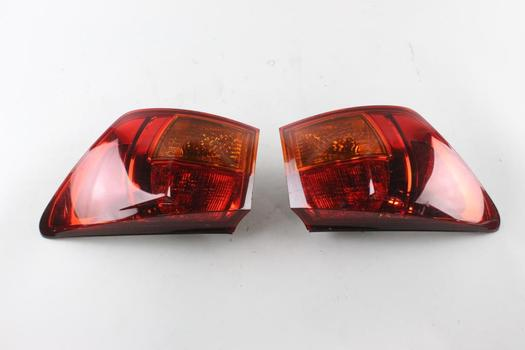 Toyota Tail Lights, 2 Pieces
