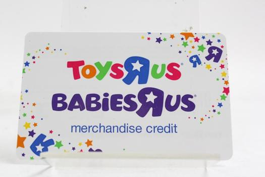 Toys R Us Gift Card 21933 Property Room