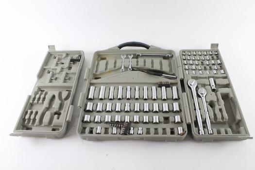 Trades Pro Tool Set, 50+ Pieces, Missing Pieces