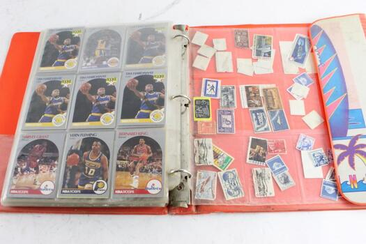 Trading Cards And Stamps, 100+ Pieces