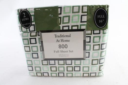 Traditional At Home 6-Piece Full Sheet Set