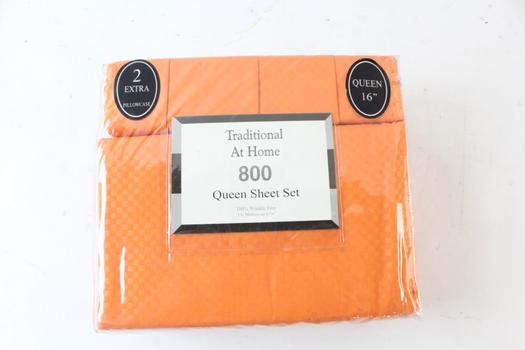 Traditional At Home Queen Sheet Set