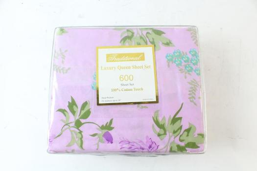 Traditional Luxury Queen Sheet Set