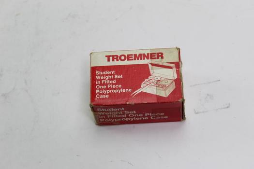 Troemner Student Weight Set