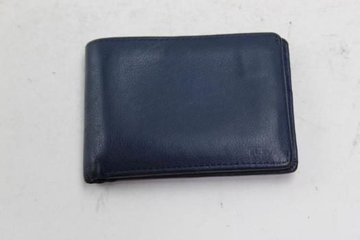 Tumi Bifold Leather Wallet