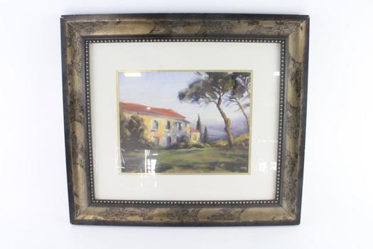 Tuscan Mornings Country Dwellings Painting By Michael Downs