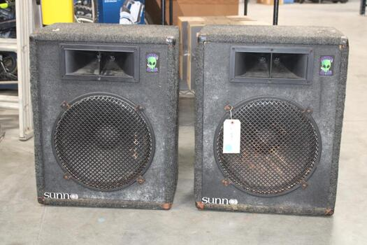 Two Sunno Speakers