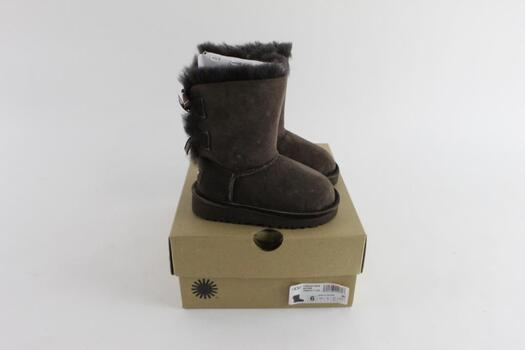 Ugg Bailey Bow Toddler Girls Boots, Size 6