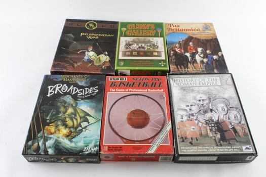 UGG History Of The Roman Empire And Other Games, 6 Pieces