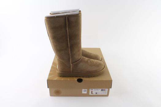 UGG W Classic Tall Womens Boots, Size 8