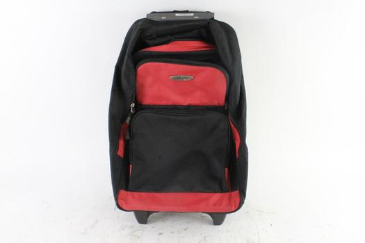Ultralite Red And Black Carryon Bag
