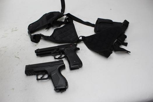 Umarex, Kwc Airsoft Pistols, Utc Holster 3 Pieces