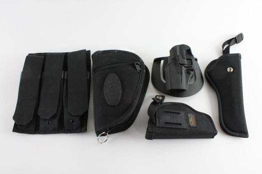 Uncle Mike's And Other Holsters And More, 5 Pieces