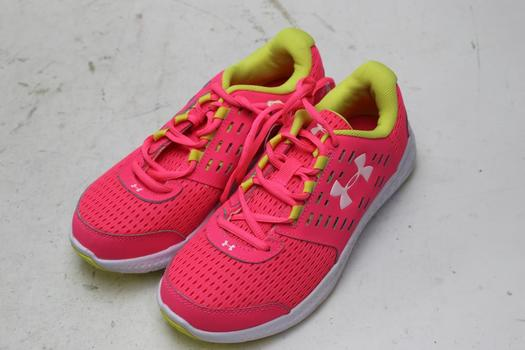 Under Armour Girls Shoes, Size 2y