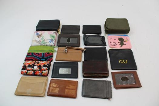 Universal Thread, Alpine Swiss, Buffway, & More Assorted Wallets; 5+ Pieces