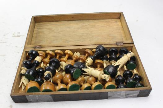 Unknown Brand Wooden Chess Board