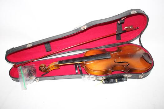 Unknown Violin With Case