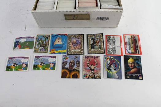 Upper Deck And Other Trading Cards, 500+ Pieces