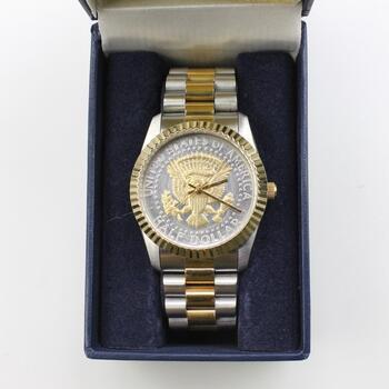 U.S Half Dollar Two Toned Watch