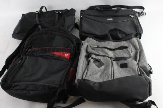 US Luggage New York Laptop Bag And More, 4 Pieces