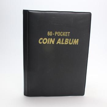 US Penny Album, Includes 35+ Coins
