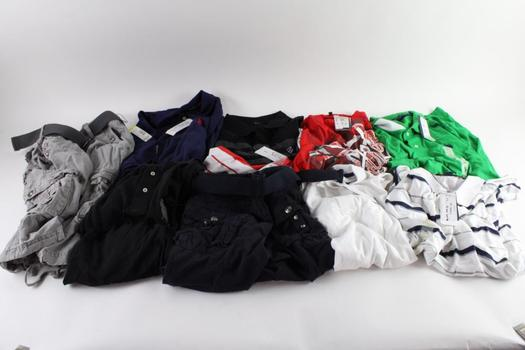 U.S. Polo Assn., And Other Clothing, L, XL, XXL And 34, 9 Pieces