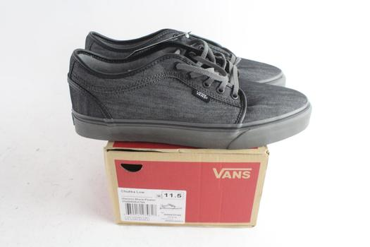 Vans Chukka Low Mens Shoes, Size 11.5