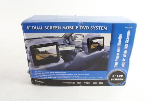 "Venturer 8"" Dual Screen Mobile DVD System"