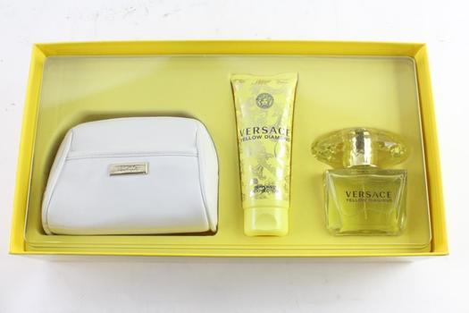 Versace Yellow Diamond 3-Piece Womens Fragrance Set