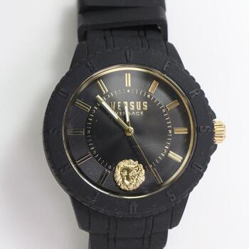 Versus Versace Silicone Watch