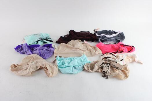 Victoria's Secret And Pink By Victoria's Secret Panties, L, 10 Pieces