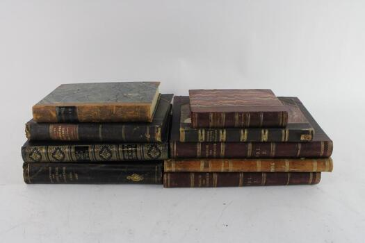 Vintage Book Collection, 7 + Pieces