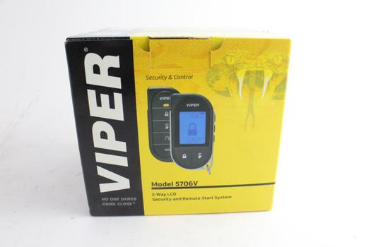 Viper 2-Way LCD Security And Remote Start System