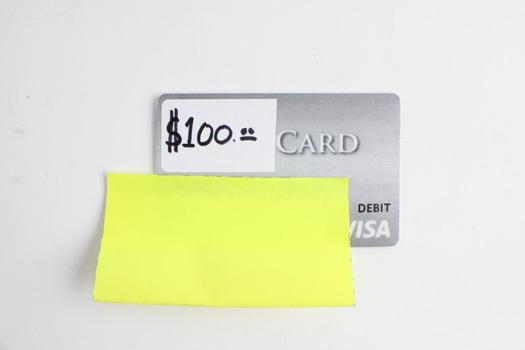 Visa Gift Card, $100.00