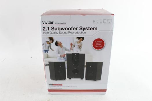 Vivitar 2.1 Subwoofer System