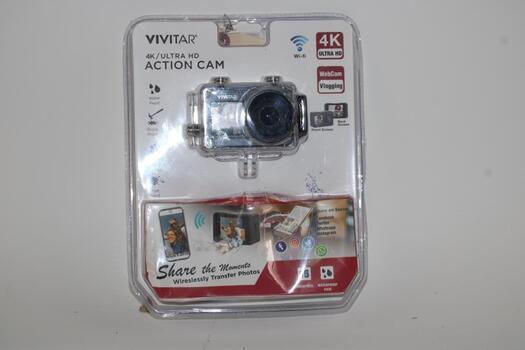 Vivitar 4K Ultra Hd Action Cam