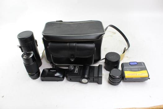 Vivitar, Lenmar And More Camera Lenses And Other Accessories, 5+ Pieces
